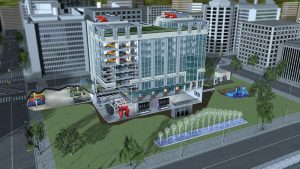 B&G commercial building diagram