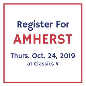 Register for Amherst Oct 24